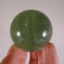 Madagascan Emerald Green Fluorite Polished Sphere Ball - 52mm, 240g