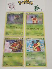 Carte pokemon française neuve HOLO reverse CRIKZIK 50PV 65//102