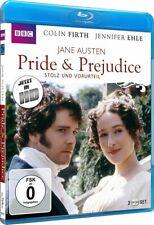 Pride & Prejudice - Stolz und Vorurteil - Jane Austen [Blu-ray/NEU/OVP] Colin Fi