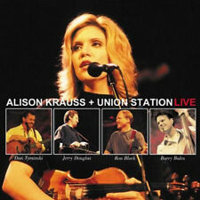 ALISON KRAUSS UNION ALISON KRAUS + STATION LIVE CD BLUEGRASS MUSIC NEW