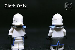 LEGO Star Wars clone CAPTAIN REX CLOTH CAPE SET