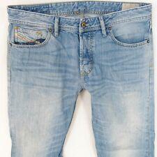 Mens Diesel LARKEE 0827F Straight Regular Fit Blue Jeans W34 L32