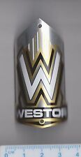 Vintage WESTOR Bicycle Cycle Head Badge Bike Cycles Emblem Fahrrad Abzeichen