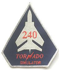 No.240 ATC Tornado Simulator Training USA Air Force Embroidered Patch