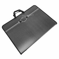 Icon A3 Black Handled Carry Case Art Portfolio Artist Paper Storage Folder Large
