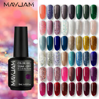 MAYJAM  1 Bottiglie 8ml Smalto Gel UV per Unghie Nail UV Gel Polish Soak Off New