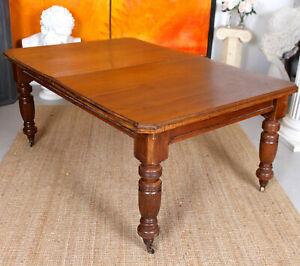 Antique Dining Table Victorian Mahogany 19th Century
