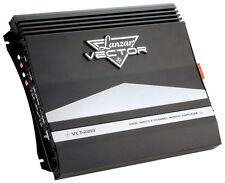 New Lanzar Vector VCT22102000 Watt 2Channel Car Audio Slim Stereo Amplifier Amp