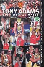 Arsenal Football Testimonial Fixture Programmes (2000s)