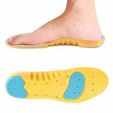 Espuma de memoria de Zapatos Plantillas Ortesis Pie Talón amortiguan inserción de arco Confort EU 35-36