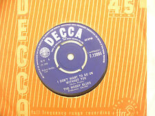 MOODY BLUES FROM THE BOTTOM OF MY HEART Decca 12166 ...45rpm  / single