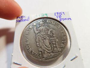 S129 Netherlands Holland 1751 10 Stiver