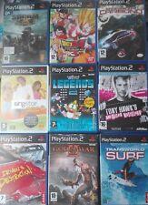JUEGOS PS2 COMPLETOS PLAYSTATION 2 PAL ESPAÑA PACK 4. PAGA SOLO UN ENVÍO