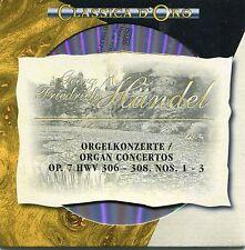 CD - Georg Friedrich Händel - Orgelkonzerte Op. 7, HWV 306 - 308