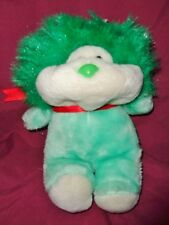 "Lion Green Hair Animal Toy Imports Inc VTG 1985 Stuffed Plush 9"" RARE Frou Frou?"