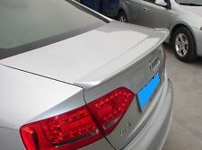 AUDI A4 B8 S-LINE LOOK S4 2008-2014 REAR BOOT SPOILER NEW