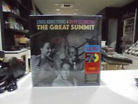 Louis Armstrong & Duke Ellington LP Europa The Great Summit 2021 Limited Colored