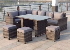 Unbranded Up to 8 Seats Garden & Patio Furniture Sets with More than 8 Pieces