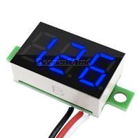 5PCS DC 0-30V 3 Wires 0.36 inch LED Panel Voltage Meter 3Digit Display Voltmeter