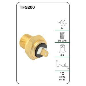 Tridon Fan switch TFS200 fits Daihatsu Charade 1.0 (L251S)