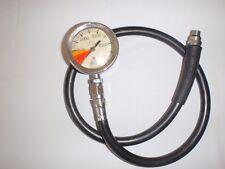 Scuba Dive Pressure Gauge Tusa heavy duty  SPG w/HP Hose. USED