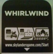 Whirlwind Skylanders Spyro's Adventures Code Only!