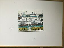 Industrial Scene   Original  Oil Painting direct from artist john Goodlad