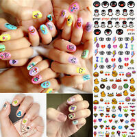 3D Mixed Design Nail Art Tips Decoration Acrylic Manicure Stickers Decal DIY New