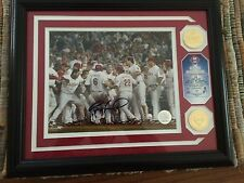 """RYAN HOWARD AUTOGRAPHED PHOTO """" WALK-OFF HOME RUN"""" CERIFIED BY HIGHLAND MINT"""