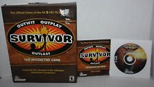 CBS TV Survivor Game Big Box (PC, 2001)