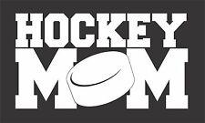 Hockey Mom Sticker 200 mm x 110 mm Marine Grade material.