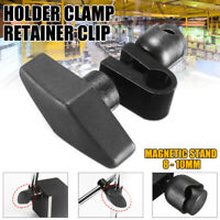 8-10mm Indicatior Dial Guage Holder Clamp Magnetic Stand Retainer Clip Chuck