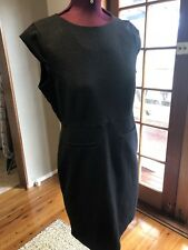 Basque Black Dress Size 14