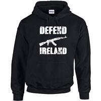 591 Defend Ireland Hoodie IRA army freedom irish isle AK 47 gun pro vintage new