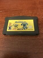 Monsters, Inc. (Nintendo Game Boy Advance, 2001) Working Game Only