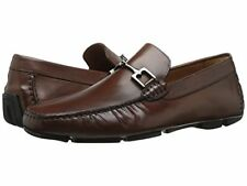 8eb66e475cd F0 Bruno Magli Monza Cognac Leather Driver Moccasin Shoes Size 12 M