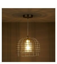 Modern Ross Champagne Chrome effect pendant ceiling Light Shades Lampshade