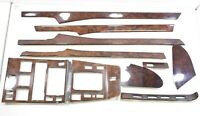 LHD Mercedes S-Class W140 S500 Interior Wood trim Cover Set Brown Incomplete