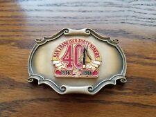 SAN FRANCISCO 49er's  1946-1986 40th Anniversary Belt Buckle
