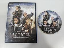 THE LAST LEGION EXCALIBUR DVD + EXTRAS SPANISH ENGLISH COLIN FIRTH KINGSLEY