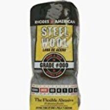 Homax 106601-06 Steel Wool Pads Poly Bag 16 Pads / Pkg