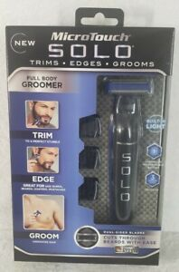 MICRO-TOUCH Solo Men's Rechargeable Full Body Groomer **NEW**