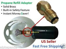 Propane Refill Adapter Lp Gas 1 Lb Cylinder Tank Coupler Heater Bottles Coleman