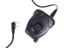 Z-TACTICAL PTT Motorola 1 Pin Connector PUSH TO TALK  ADATTATORE AIRSOFT SOFTAIR