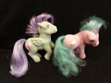 New ListingMy Little Pony Vintage Peppermint Crunch Banana Surprise Sundae Best G1 Pegasus