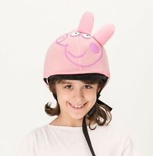 Peppa pig helmet cover - ideal for any kid size helmet for 14 different sports