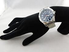 TIMEX Silver tone Men's Bracelet Watch Msrp $48.00 * NEW *
