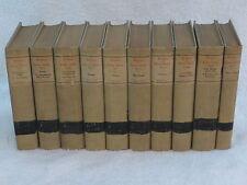 COMPLETE WRITINGS OF OSCAR WILDE 10 Vol Set Nottingham Society 1907 #478/1000