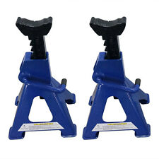 Adjustable 1 Pair of 3-Ton Jack Stands Car Lift Blue
