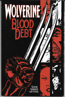 Wolverine Blood Debt #1 2001 NM TPB 1St. Print Marvel Comics Free Bag/Board